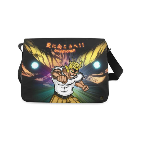 "All Might ""Go Beyond"" Unisex Messenger Bag"