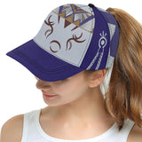 Julia MOTHER NATURE All Over Print Hat - Unisex - Blue