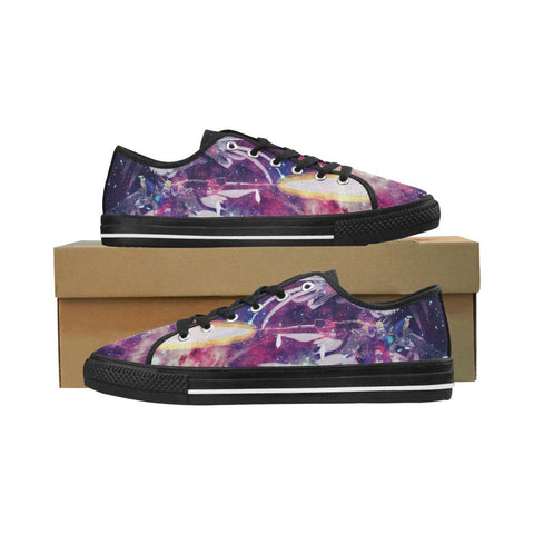 Wing Gundam Equil Low Tops - Womens