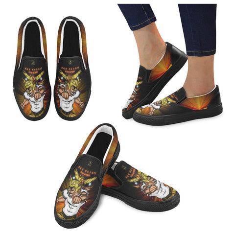 "All Might ""Plus Ultra"" Slip Ons - Womens"