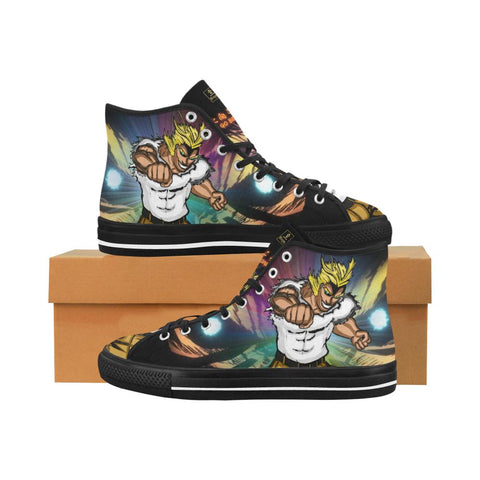 "All Might ""Go Beyond"" Equil High Tops - Womens - Equil Streetwear"