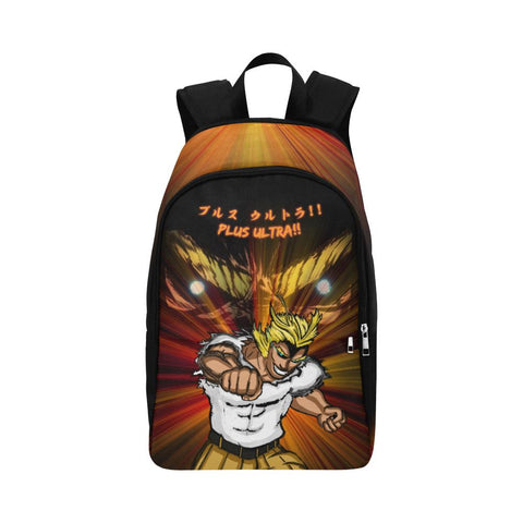 "All Might ""Plus Ultra"" Unisex Adults Backpack - Orange"
