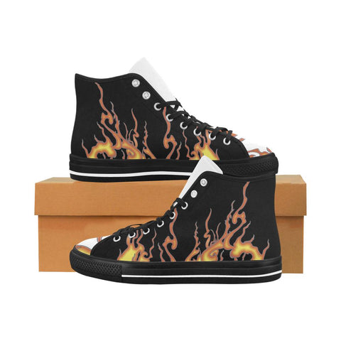 Rising Flames Equil High Tops (Multi) - Womens