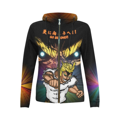 All Might All Over Print Hoodie - Womens