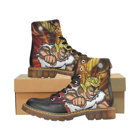 "All Might ""Plus Ultra"" Winter Boots - Mens - Equil Streetwear"