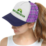 Julia REFORESTATION All Over Print Hat - Unisex - Plaid