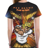 All Might All Over Print T-Shirt - Womens