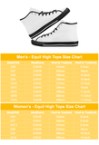 Lee's Excellent Equil High Tops - Mens