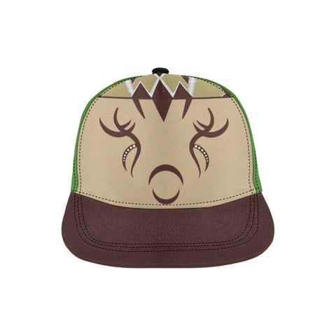 Julia MOTHER NATURE All Over Print Hat - Unisex - Green