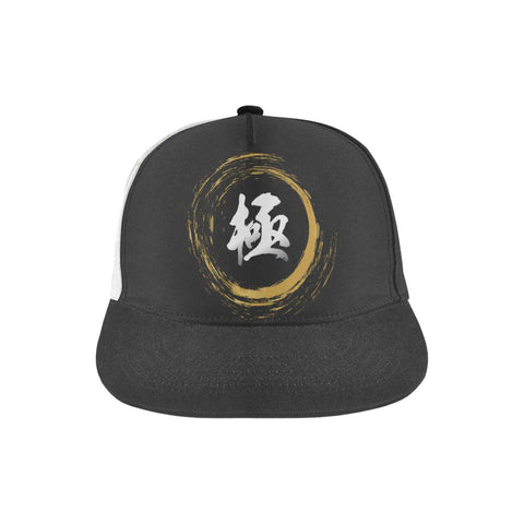 """極"" Kiwami Extreme Kanji All Over Print Hat"
