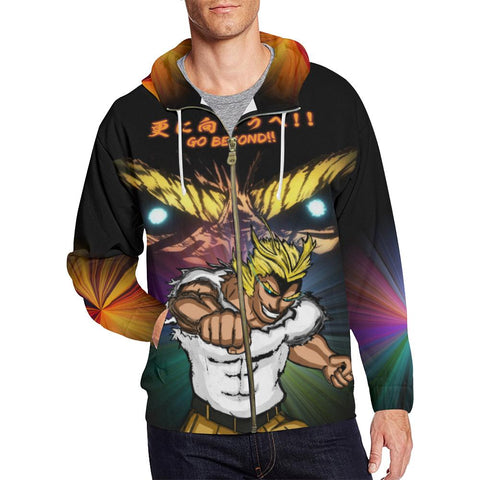All Might All Over Print Hoodie - Mens - Equil Streetwear