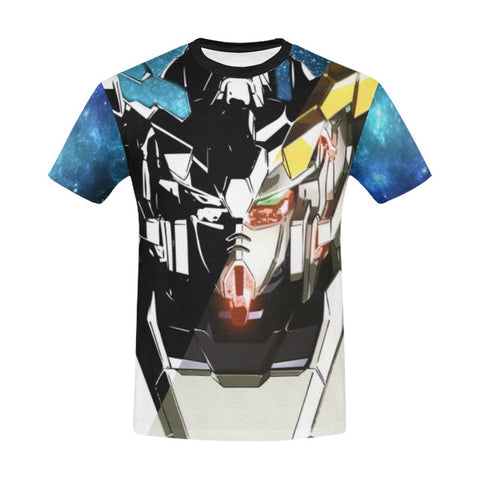 Unicorn Gundam All Over Print T-Shirt - Mens - Equil Streetwear