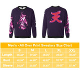 All Might All Over Print Sweater - Mens