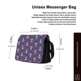 Wing Gundam Unisex Messenger Bag