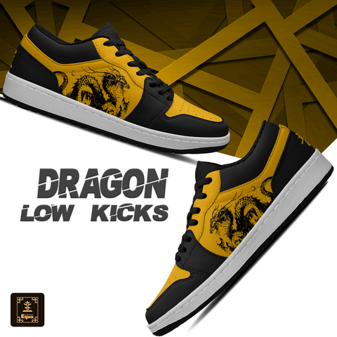 """龍"" Dragon Kanji Equil Low Kicks - Mens"