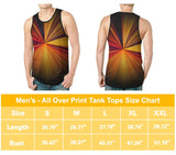 All Might All Over Print Tank Top - Mens