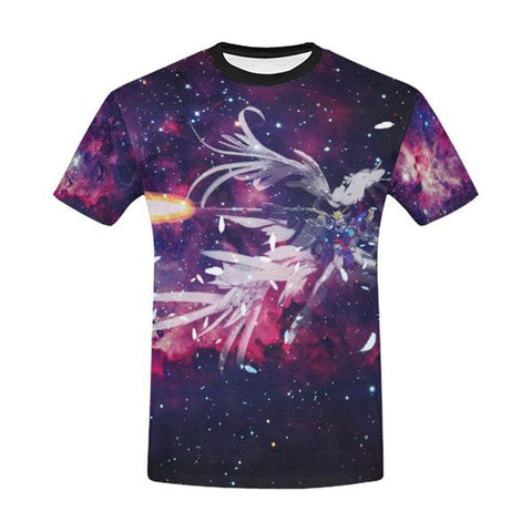 Wing Gundam All Over Print T-Shirt - Mens