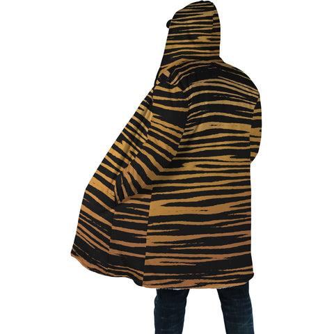 Heihachi Tiger Pattern Hooded Coat - Unisex
