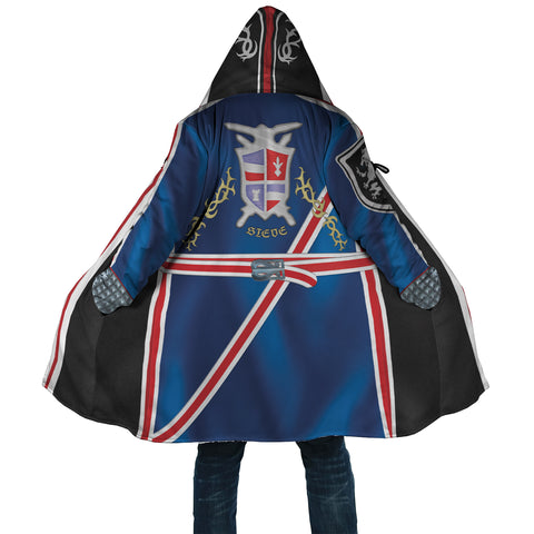 STEVE Peekaboo Hooded Coat