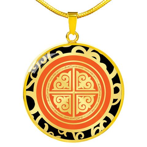 Xiaoyu PHOENIX Circle Necklace - 1P - 18k Gold Finish
