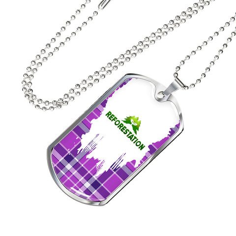 Julia REFORESTATION Dog Tag V2 (Engraving Available)