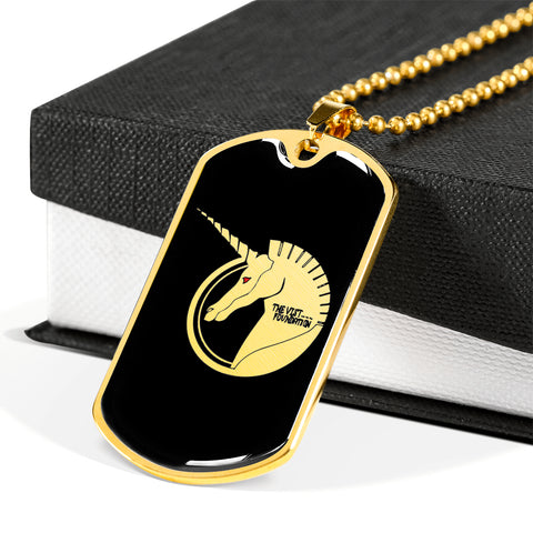 The Vist Foundation (Unicorn) Dog Tag