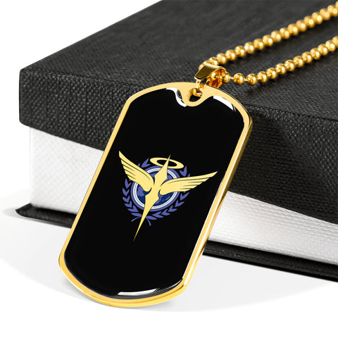 Celestial Being Dog Tag