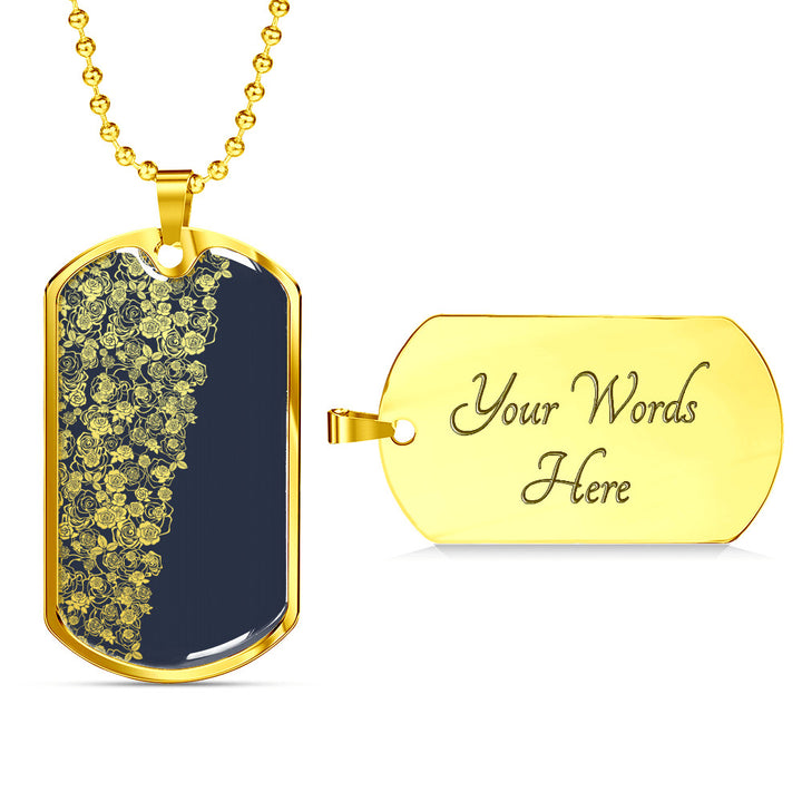 Lee's Excellent Dog Tags (Engraving Available)