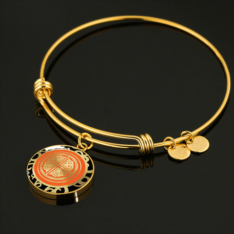 Xiaoyu PHOENIX Luxury Circle Bangle - 1P - 18K Gold Finish