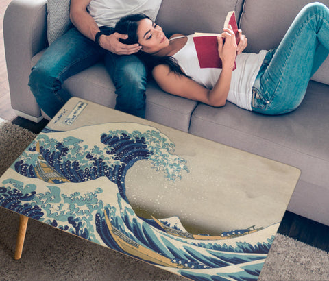 Hokusai Great Wave Coffee Table - Rectangle