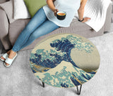 Hokusai Great Wave Coffee Table - Round