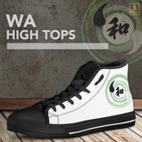 """Wa"" - Balance Kanji High Top Shoes - Mens/Womens"