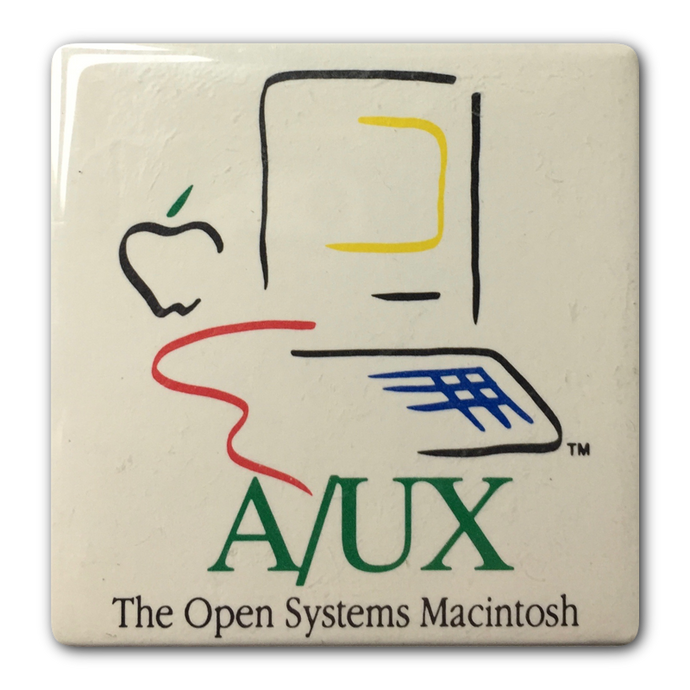 Picasso Mac A/UX Button