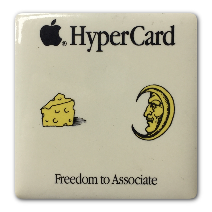 HyperCard Cheese Button