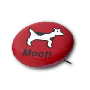 Red Moof Button