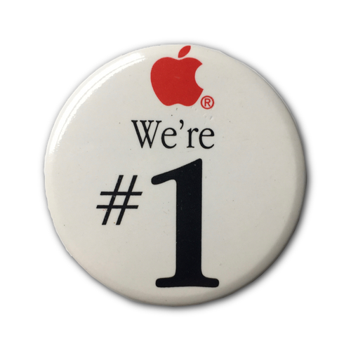 We're #1 Button