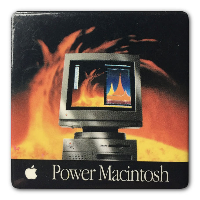 Power Macintosh Button