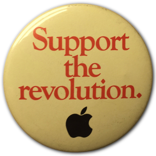 Support the Revolution Button