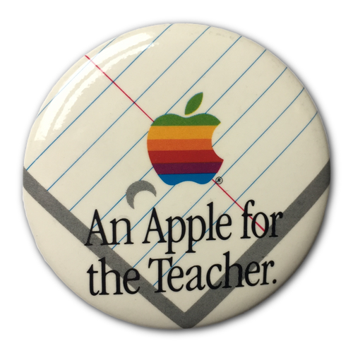 Apple for the Teacher Button