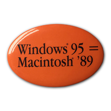 Win 95 = Mac 89 Button