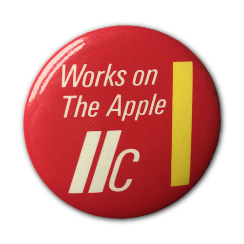 Works on a IIc Button