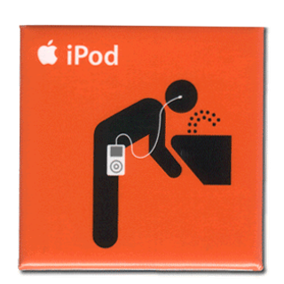 iPod Drink Button
