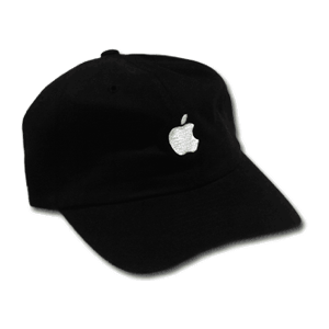 Black Apple Baseball Cap