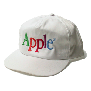 White Apple Multicolor Cap