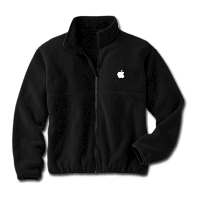 Black Fleece Apple Jacket