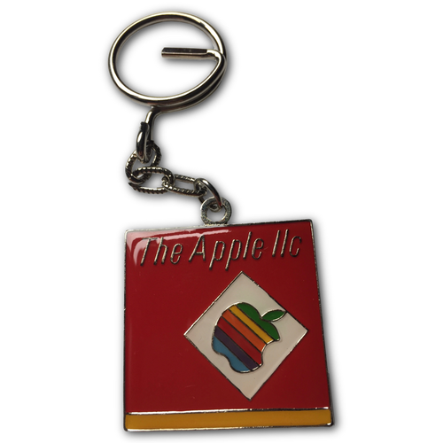 Apple IIc Keyring