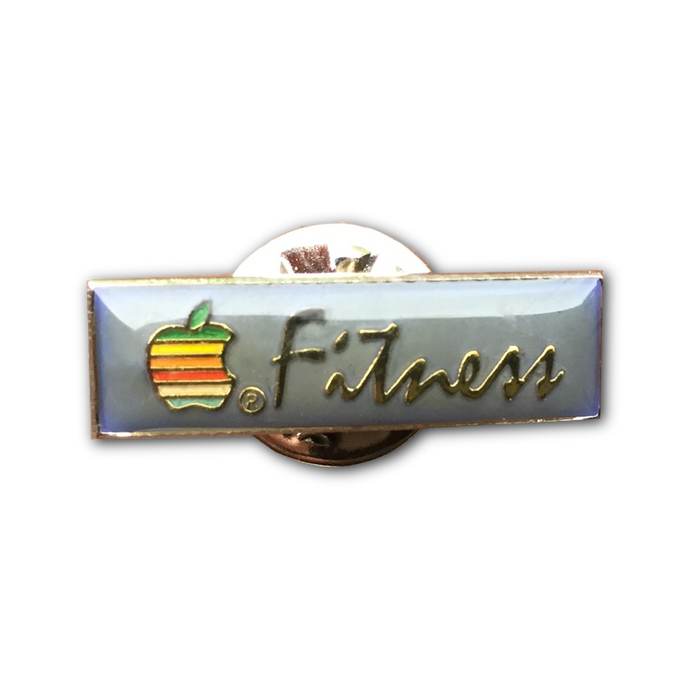 Apple Fitness Lapel Pin