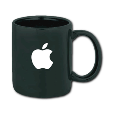 Black Ironstone Apple Mug