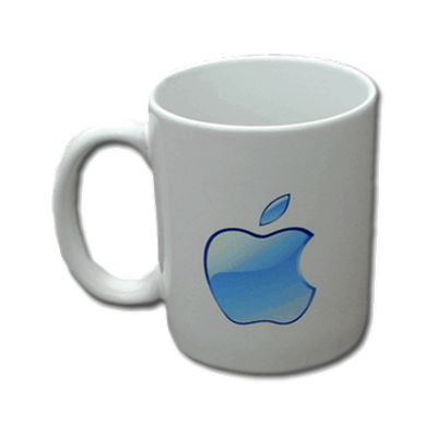 Blue Apple Mug