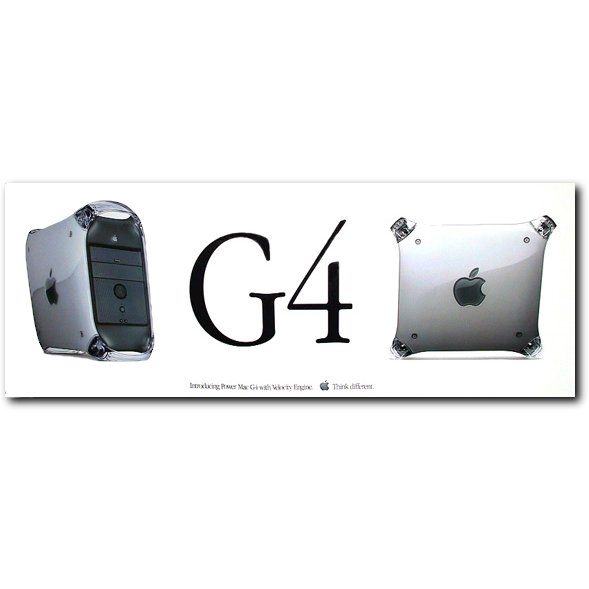 PowerMac G4 Wide Poster